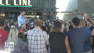 Beto event busted: woman goes after him on illegals, guns: 'Hands off!'