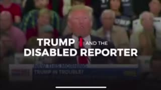 Trump did not mock disabled journalist
