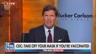 Tucker Carlson DESTROYS Joe Biden's Mask 'Ultimatum'