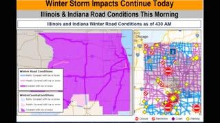 Winter Storm Warning - Travel Watch Still in Effect