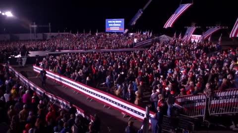 Dalton, Georgia Rally For US Senate