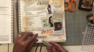Let's Bible Journal Isaiah 7:9- Stand Firm (from Lovely Lavender Wishes)