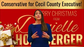 Cecil County Executive candidate Danielle Hornberger 2019 Christmas message