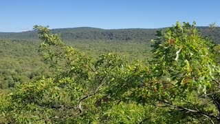 A view from the Porcupine Mountains