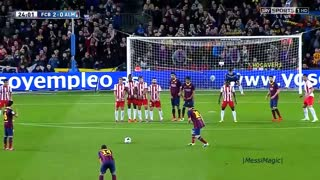 Lionel Messi ● The Most LEGENDARY Free Kick Goals Ever