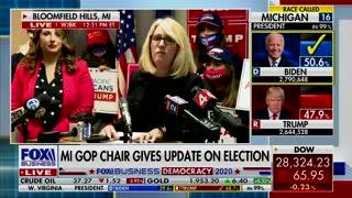 Nov 6th Michigan Republican Party Press Conference   The Washington Pundit