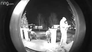 Doorbell Camera Captures Mailman Arguing With His Boss
