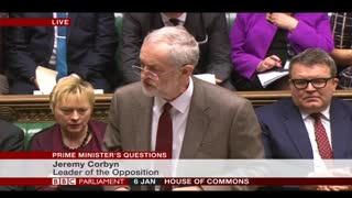 Corbyn challenges Cameron on flooding
