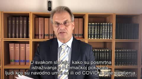 dr Rainer Fullmich recap zadnjih godinu dana saslušanja - Hrvatski