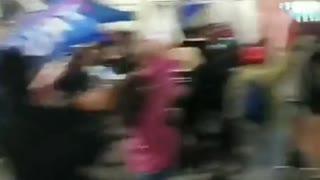 """Huntington Beach CURFEW BREAKERS Chant """"Trump Trump!"""""""