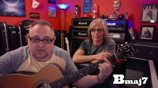 Acoustic Guitar Lesson - As by Stevie Wonder