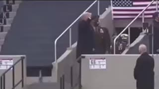 How the Military treated Trump v Biden