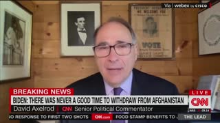 David Axelrod on Afghanistan withdrawal