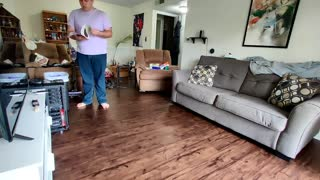 Man Takes Control of Mess