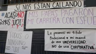 Protesta UDI