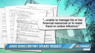 Judge Denies Removal Of Britney Spears' Father As Conservator #news