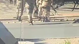 Mzanzi reacts to viral video of 'unfit soldier'