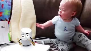 Funniest Baby Playing With Doodle Funny Fails Baby Video Woa Doodles
