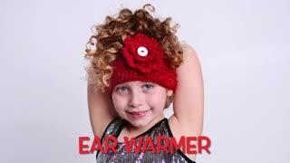 How to Crochet an Ear Warmer. Easy Crochet ear warmer.