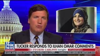Tucker Carlson counterattacks Omar, Part 2