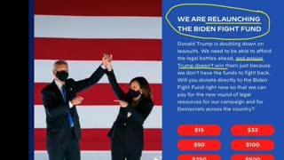Biden's web presence