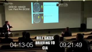WATCH!!!! Vaccination Video of Bill Gates 2005