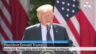Some U.S. Troops stationed in Germany may move to Poland