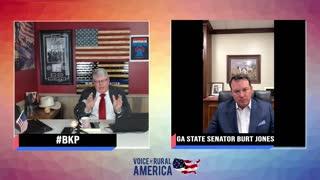 Discussing The Fulton County Audit With (R) GA State Senator Burt Jones!