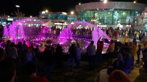 Walking In Soho Square Dancing Fountain Sharm El Shiekh