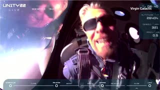 Billionaire Branson completes historic space flight