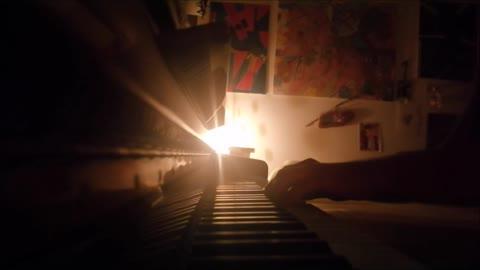 LA CURA di Franco Battiato - mini piano-cover
