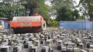 Malaysia destroy over $1 million worth of Bitcoin rigs!