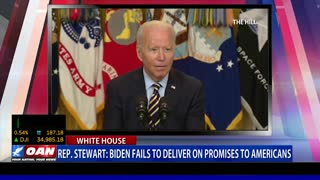 Rep. Stewart: Biden fails to deliver on promises to Americans