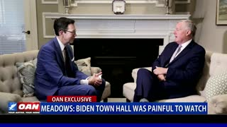 Meadows: Biden town hall was painful to watch