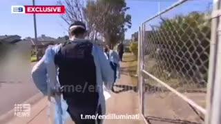 Australia: Police and Public Health Take Civilian to Quarantine Hotel