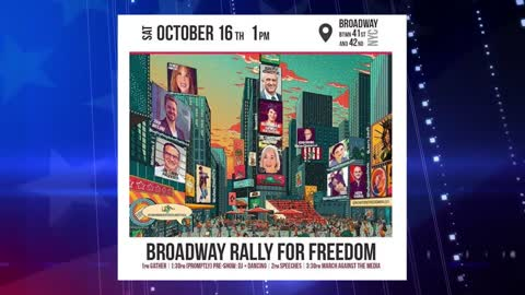 Broadway Rally For Freedom