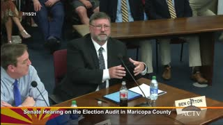 Arizona Audit Hearing 7/11/2021