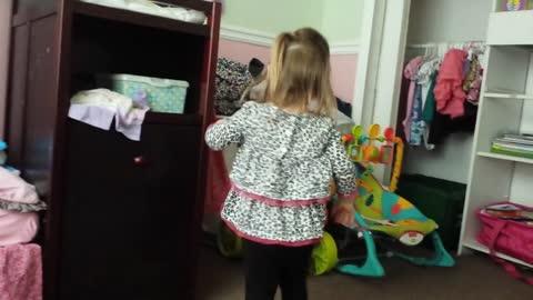 Changing Elmo's Diaper