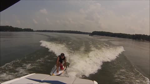 How to take wake surfing to the next level