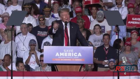 "President Trump Cullman Alabama ""Take Vaccine"""