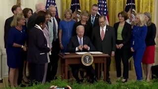 President Biden signs H.R. 1652