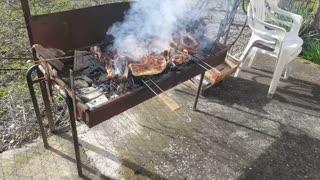 Meat feast in Greece !