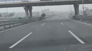 It snows in Madrid 🌨🌨
