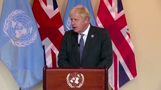 Developing world 'baring the brunt' of climate change -PM Johnson