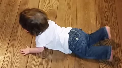 Toddler destined to become crossfit champion