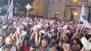 Italia agosto 2021 - Manifestaciones