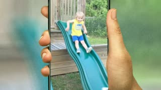 cute baby fall down video clips.