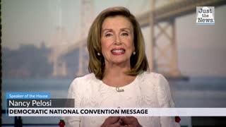 Nancy Pelosi - Democratic National Convention Message