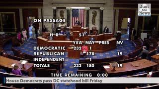 House passes bill to make Washington, D.C. a state