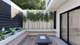 6x12 Meters Modern House Design Idea with 3 Bedrooms